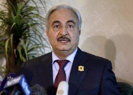 Haftar dice controlar el 80% de Libia y descarta dialogar por ahora con el Gobierno reconocido