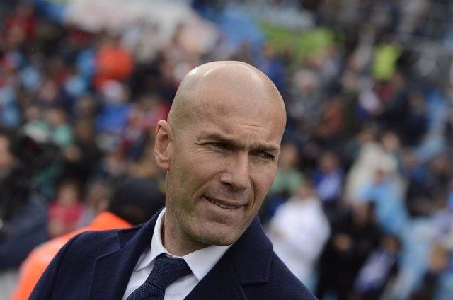 Zinedine Zidane en el Getafe C.F. S.A.D. - Real Madrid C.F.