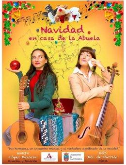 Cartel de 'Navidad en casa de la abuela'