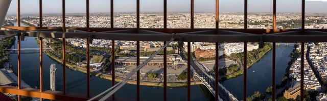 Vistas desde la Torre Sevilla