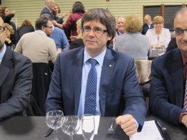 """Carles Puigdemont constata que Catalunya lleva años """"experimentando"""" el modelo del TC"""
