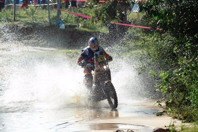Toby Price en el Rally Dakar