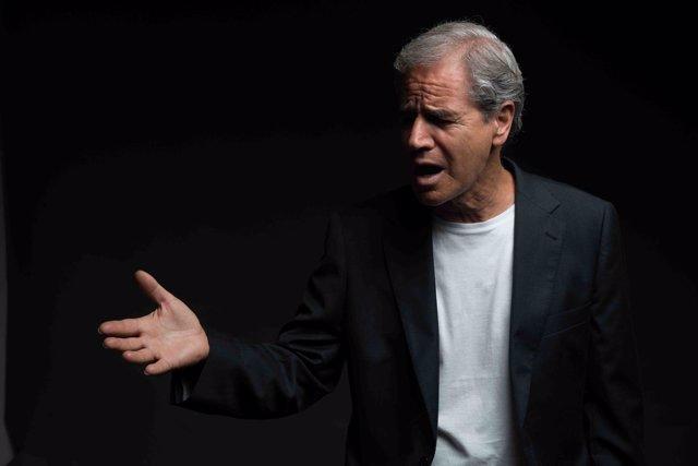 El cantante palmero Luis Morera