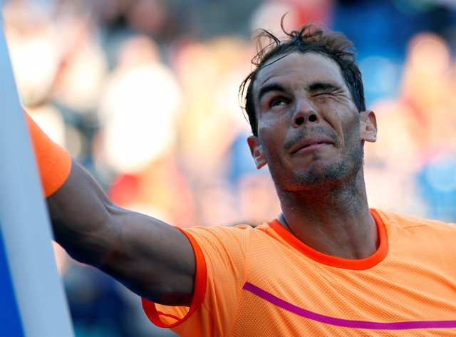 El tenista español Rafael Nadal comienza la temporada 2017