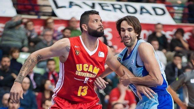 Vitor Faverani. Jugador del UCAM Murcia