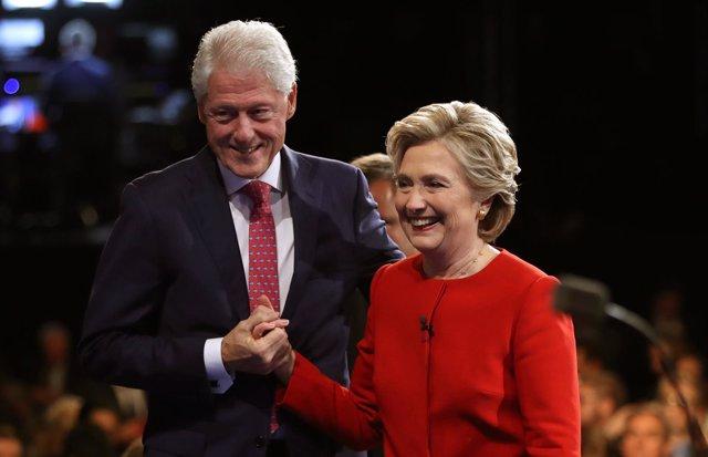Hillary Clinton y su marido, Bill Clinton