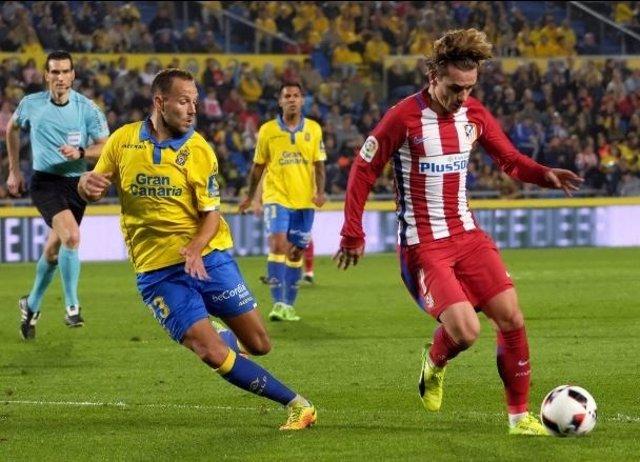 Antoine Griezmann ante Las Palmas