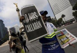 México celebra el Día del Periodista con 74 profesionales asesinados en 2016