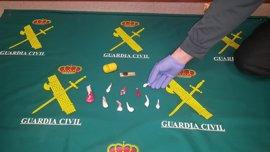 Detenido un vecino de Moaña (Pontevedra) por tráfico de drogas