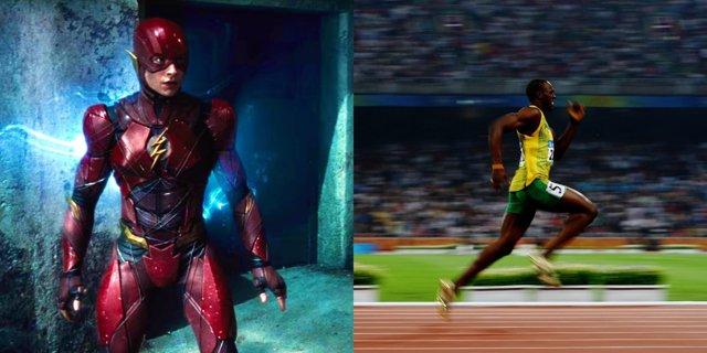The Flash y Usain Bolt