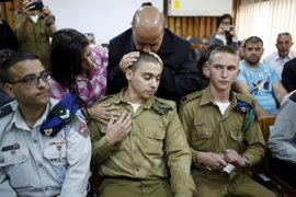 La Justicia israelí condena por homicidio al soldado que remató a un atacante palestino herido