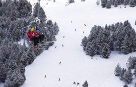 Grandvalira empieza el año manteniendo la extensión esquiable más grande de la Península