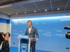 """PP asegura que los presos se acercarán """"automáticamente"""" a Euskadi si ETA desaparece"""