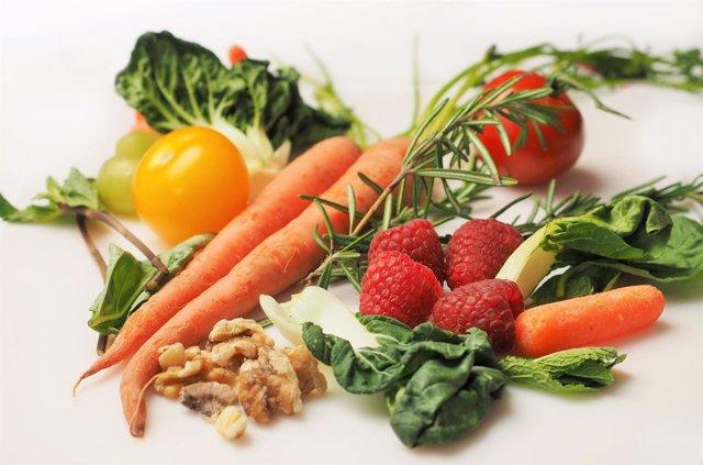 Dieta sana. Verduras y hortalidas.
