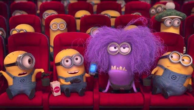 Móviles en el cine