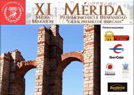 Mérida celebrará el 5 de marzo su XI Media Maratón, que espera alcanzar 2.500 corredores