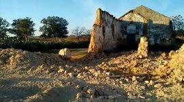 """Los ecologistas de Alcalá denuncian la """"demolición"""" del antiguo molino de aceite"""