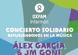 Oxfam Intermón organiza un concierto solidario por los refugiados