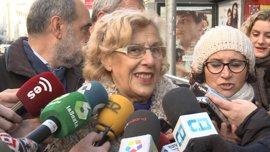 """Carmena cree que los comentarios de Salas sobre la violencia de género indican un """"aislamiento de la sociedad"""""""