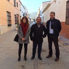Villanueva de la Reina mejora calles con una aportación de más de 152.000 euros
