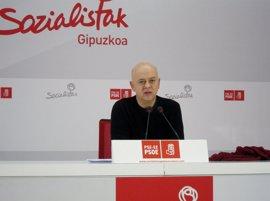 """Elorza cree que el comité federal  del PSOE """"viene cargado de malas noticias"""""""