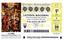 El segundo premio de 'El Niño', repartido en Mérida, Corte de Peleas y Plasencia