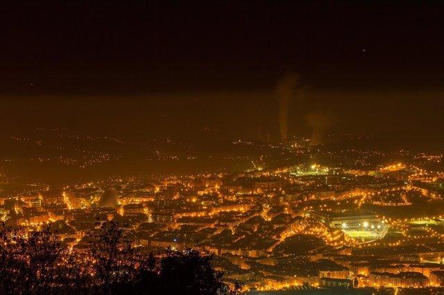Oviedo En Alarma Por Contaminación Esperando Por Los Reyes Magos