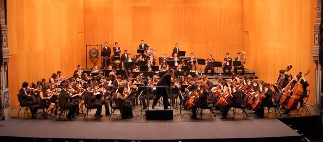 La Joven Orquesta Provincial de Málaga (JOPMA).