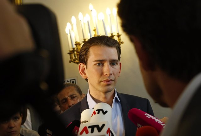El ministro de Exteriores de Austria, Sebastian Kurz