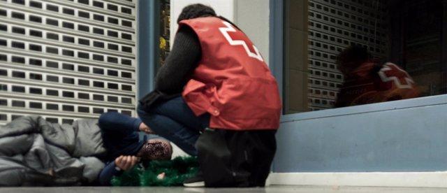 Cruz Roja Zaragoza moviliza la Unidad de Emergencia ante las bajas temperaturas