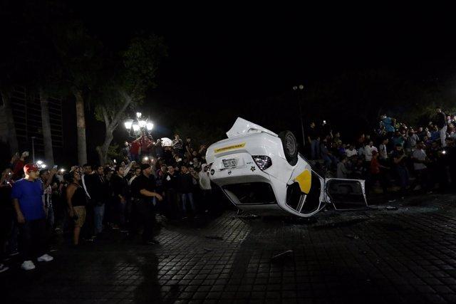 Protestas por la subida del precio de las gasolinas en México