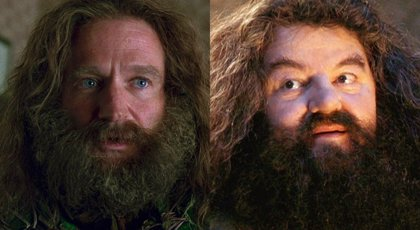 Harry Potter: ¿Por qué a Robin Williams no le dejaron ser Hagrid ?