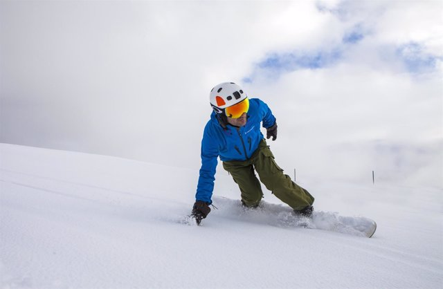 Esquí, Andorra, invierno, Grandvalira, snowboard