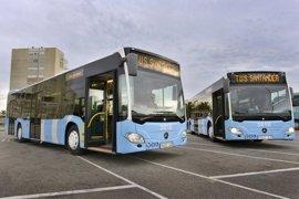 Santander adjudica seis autobuses híbridos en 4,3 millones