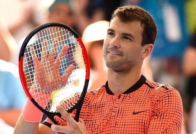 El tenista búlgaro Grigor Dimitrov