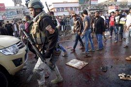 Siete muertos en un atentado suicida contra un mercado de Bagdad