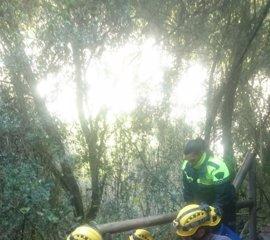 Rescatada una senderista lesionada en una ruta entre El Bosque y Benamahoma (Cádiz)