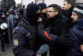 Enfrentamientos entre Policía y manifestantes en las protestas contra la reforma constitucional de Turquía
