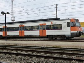 Restablecen la circulación de tren por las dos vías en Montcada i Reixac