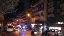 Una mujer fallece en un incendio en Alicante