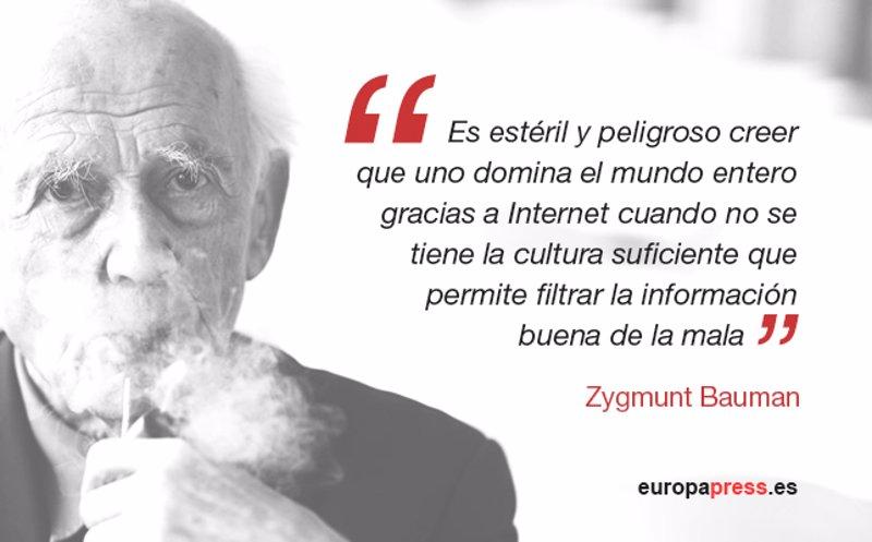 10 Frases Que Resumen El Pensamiento De Zygmunt Bauman