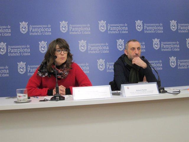 Maider Beloki y Arturo Ferrer