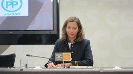 "El PP lamenta la ""desgana"" del Gobierno aragonés para cumplir la ley de transparencia"
