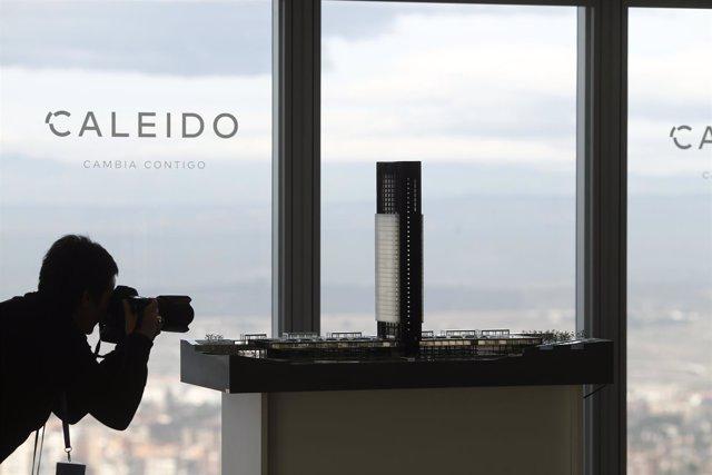 Presentan el proyecto de la quinta torre del Norte de Madrid