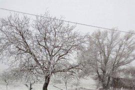 Protección Civil avisa por vientos de hasta 100km/h en el norte y por nevadas de 30 cm