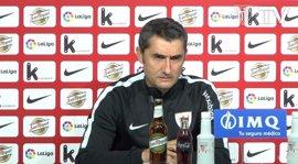 """Valverde: """"No veo por ningún lado la asequibilidad del Barça"""""""