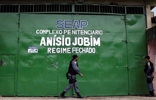 Complejo Penitenciario Anísio Jobim (COMPAJ) en Manaos; prisión; cárcel