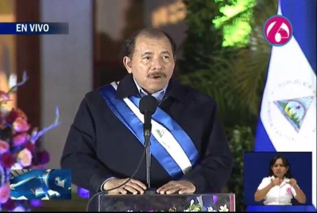Daniel Ortega asume su tercer mandato como presidente de Nicaragua