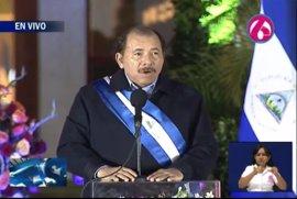 Daniel Ortega asume su nuevo mandato como presidente de Nicaragua