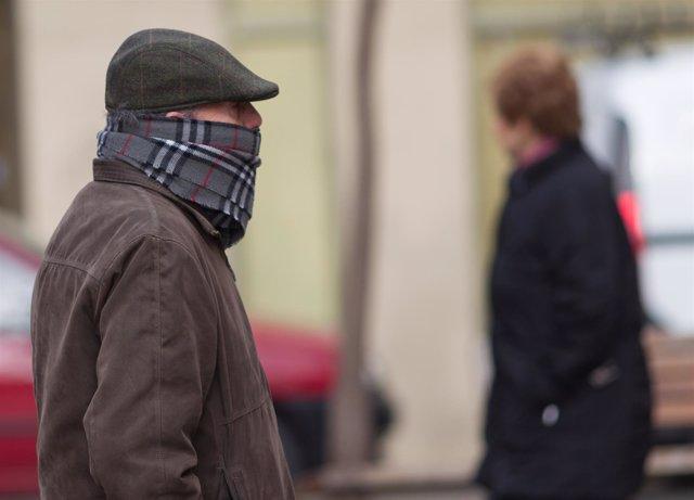 Invierno, invernal, frío, temperaturas bajas, abrigo, abrigarse